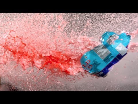 Compressed Air Cannon in Super Slow Mo – The Slow Mo Guys