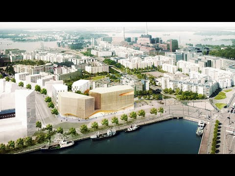 Finland is Building a City Made of Wood