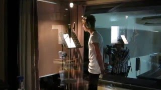 "Joe recording ""it's all about you(tube)"""