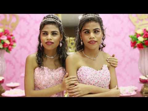 Emoção e festa nos 15 anos das gêmeas Rebeca e Vitória - Gente de Opinião