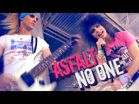 Asfalt - No One official video 2012 Sleaze Glam