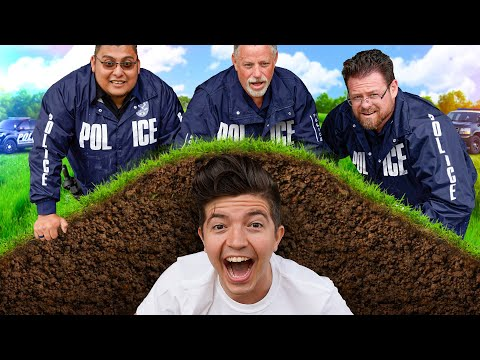 Hiding UNDERGROUND from the POLICE!