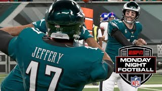 NFL Monday 12/9 - New York Giants vs Philadelphia Eagles Full Game | NFL Week 15 (Madden)