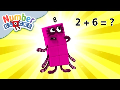 Numberblocks - Horrifying Sums! | Learn to Count