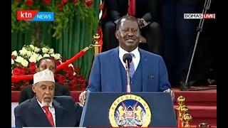 Raila Odinga: This is the Kenya that we want, a united Kenya