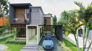 A Beautiful, Contemporary 4 Bedroom Modern House In Kochi, Kerala - A Walk-through Video !