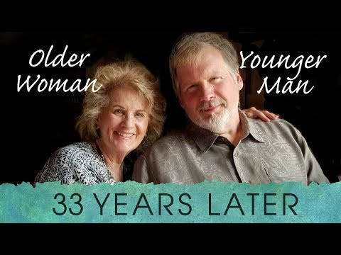 Older Woman Younger Man 33 Years Later
