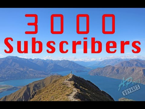 3000 Subscribers!!!! // Thank You Voyagers!!