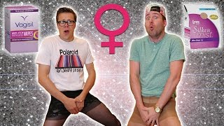 TESTING WOMEN'S PRODUCTS PT.  2 with JOSH!