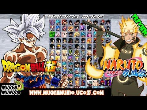 Dragon Ball Super & Naruto MUGEN 1 1 MugenMundo - SHOWCASE (DOWNLOAD