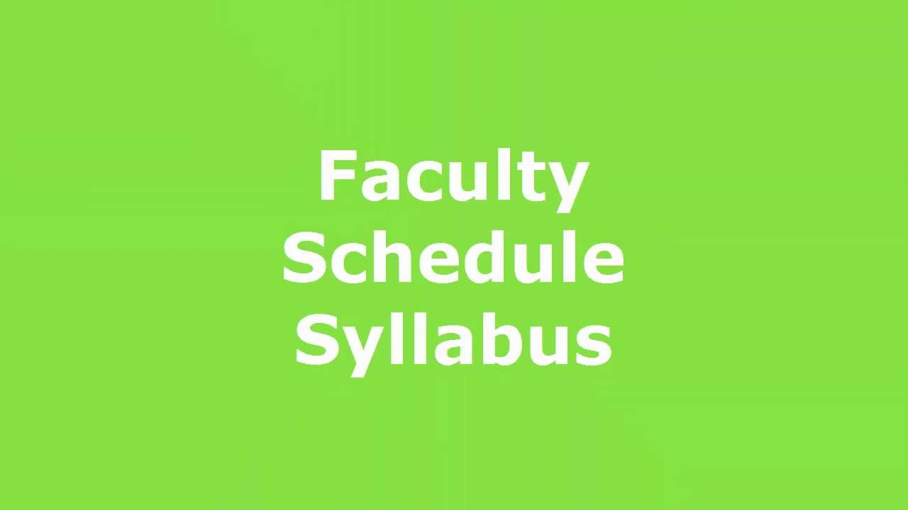 Play SOLE Faculty, Schedule, & Syllabus