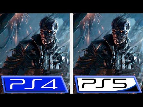 Terminator Resistance : Vidéo comparative version PS4/PS5