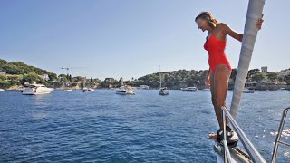 Sailing the French Riviera - Tranquilo Sailing Around the World Ep. 38