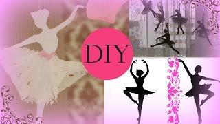 DIY: Украшаем комнату Снежинки-Балеринки. Декор