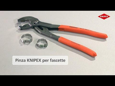 KNIPEX Pinza per fascette Click
