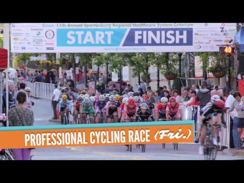 Join us for the 13th Annual Spartanburg Criterium