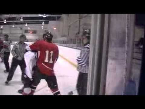 Bantam AA Hockey Fight