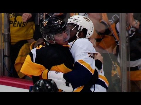 Gotta See It: Malkin & Subban drop the gloves during commercial break
