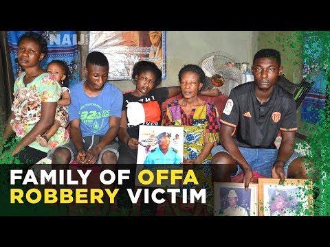 Offa Robbery: Family of slain policeman beg for help