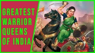 Top 25 Greatest Female Warriors Of India