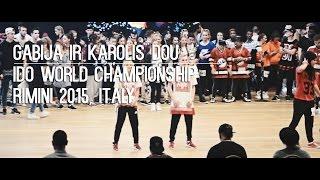 Gabija ir Karolis Duo   IDO World Championship   Riminy 2015, Italy