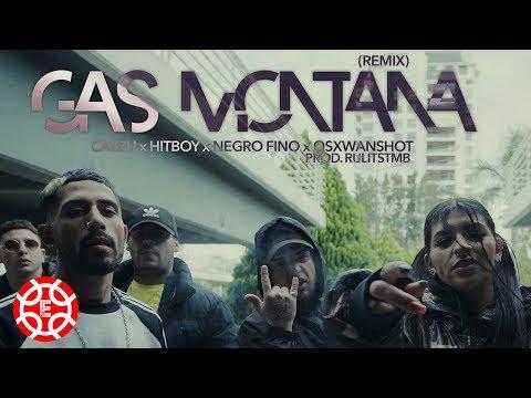 Cazzu X Hitboy X Negro Fino X Osxwanshot Gas Montana Remix Prod Rulitstmb Shot By Ballve