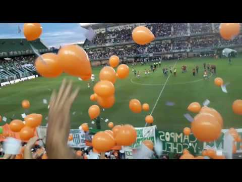 """Recibimiento de Banfield Vs Boca Juniors 2017"" Barra: La Banda del Sur • Club: Banfield"
