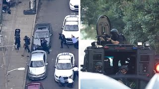 video: Police hail 'miracle' rescue of trapped officers as 6 injured in 7-hour hostage standoff