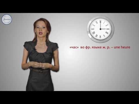 Французские числительные от 1 до 100. Указание и определение времени во французском языке