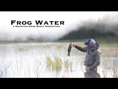 Frog Water – Topwater Fly Fishing for Bass in Oregon