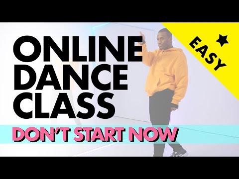 Dua Lipa - Don't Start Now | Online dance class for beginners | Vincent Vianen