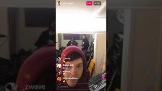 Homeshake Set Instagram Live