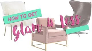 Glam 4 Less: Accent Chairs At Prices Youll Love