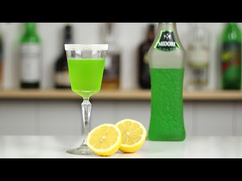 MIDORI MELON BALL DROP – Is this too sweet for you?