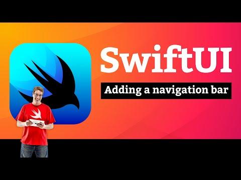 Adding a navigation bar  – WeSplit SwiftUI Tutorial  3/11 thumbnail
