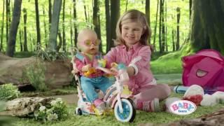 Велосипед для куклы Baby Born пупса Беби Борн Zapf Creation от компании baby born - видео