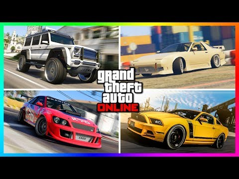 Top 20 Best FREE Cars/Vehicles You Can Own In GTA Online!