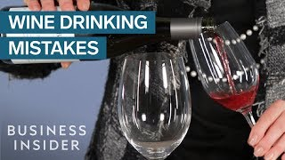 Biggest Mistakes Youre Making When Drinking Wine