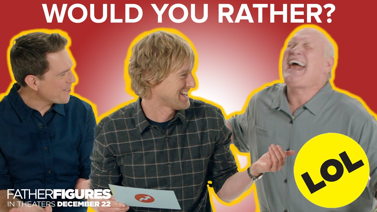 The Cast of Father Figures Plays Would You Rather thumbnail