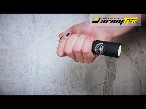 Verwendung von Taschenlampen Armytek Partner Regular