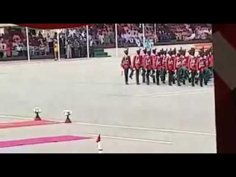 Nigerian Defence Academy p.o.p silent drill parade.