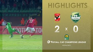 CL CAF : Al Ahly 2-0 FC Platinum