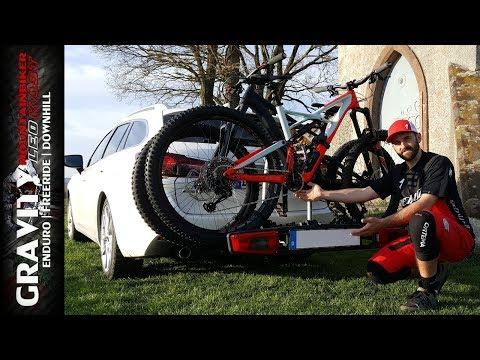 Fahrradträger Westfalia BikeLander LED - BC80 | Montage auf Anhängerkupplung | Leo Kast