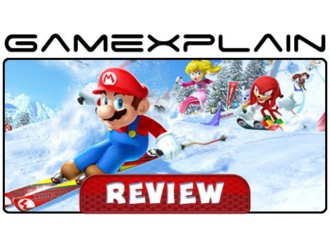 Mario & Sonic at the Sochi 2014 Olympic Winter Games - Review (Wii U) - YouTube video thumbnail