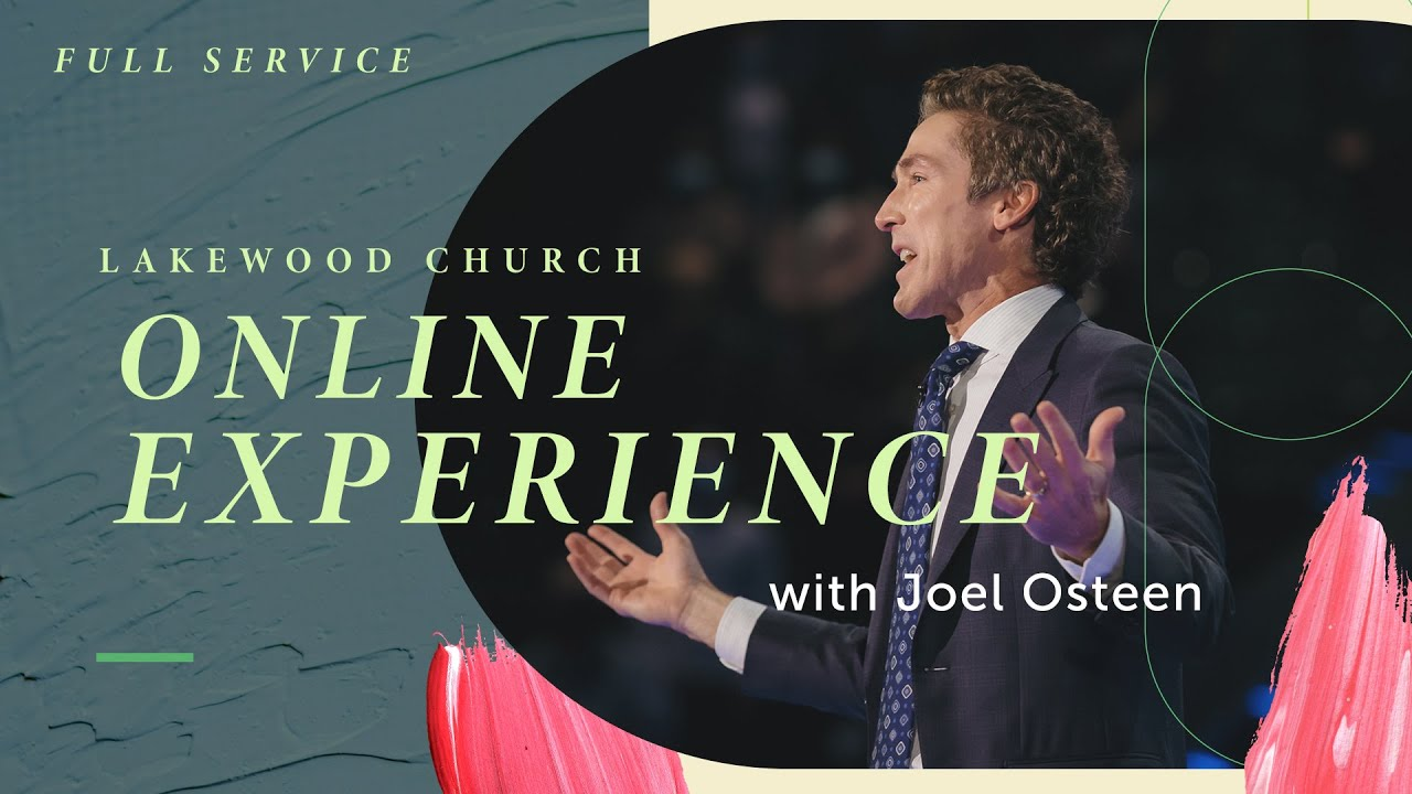 Joel Osteen Sunday 21st March 2021 Live Service at Lakewood Church