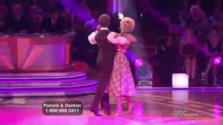 Pamela Anderson-Dancing With The Stars-Quickstep