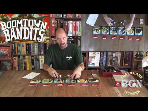 Board Game Network: How to Play Boomtown Bandits