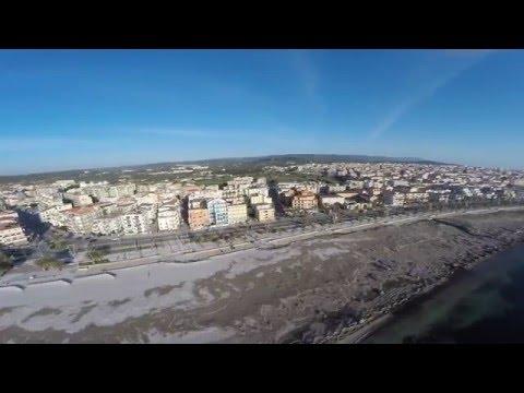 Riprese aeree - Lido San Giovanni - Alghero