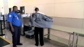 TSA - Full body scanner - How it works
