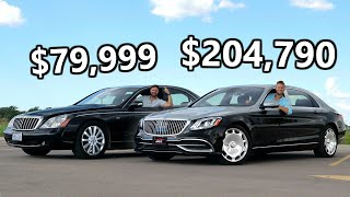 [Throttle House] 2020 Mercedes-Maybach vs The Cheapest Maybach You Can Buy